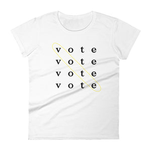 Vote is the Answer Woman Tee