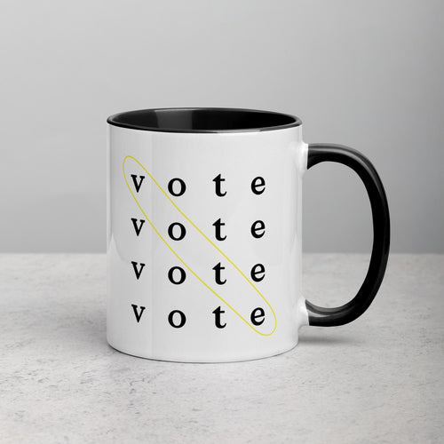 Vote is the Answer Mug