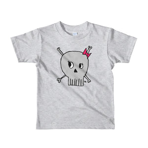 Cute Skull Little Kid Tee
