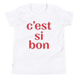 C'est Si Bon Big Kid Tee