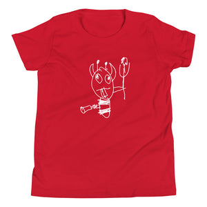 Weird Devil Big Kid Tee