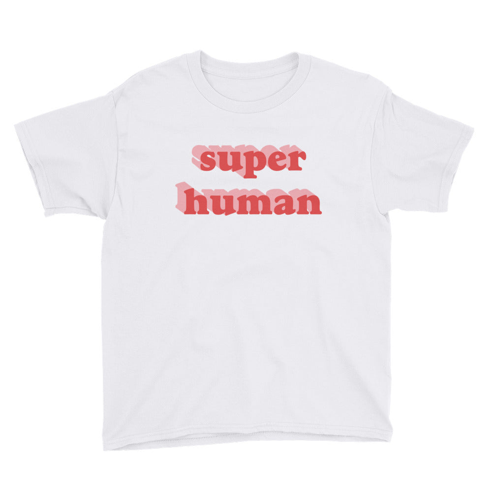 Super Human Big Kid Tee