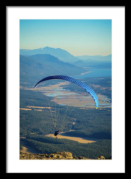 Columbia Valley Flight - Framed Print