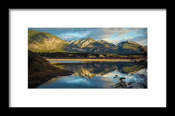 First Day Of Spring, Columbia Wetlands, British Columbia  - Framed Print