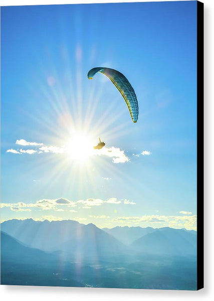 Flight Into The Sun - Canvas Print