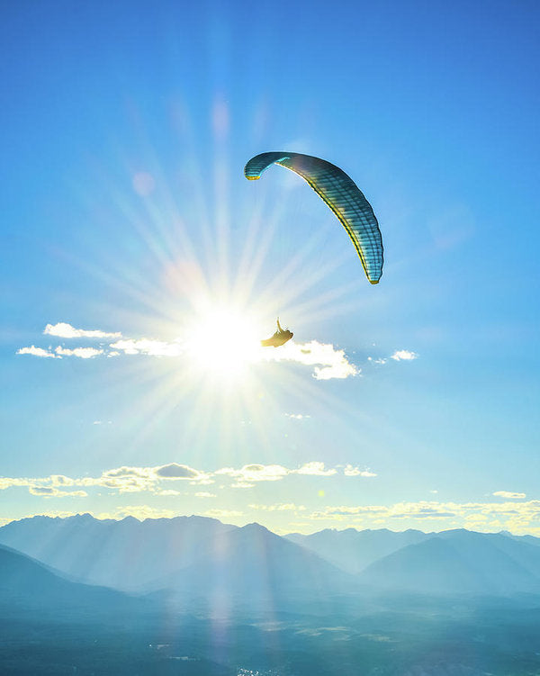Flight Into The Sun - Art Print
