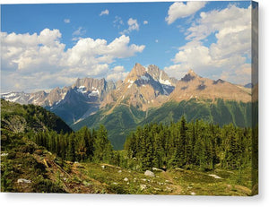 Jumbo Pass, Purcell Mountains, British Columbia - Canvas Print