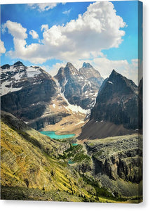 Lake Oesa, Yoho National Park, British Columbia - Canvas Print