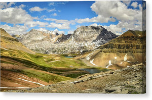 Mountain Landscape, Banff, Alberta - Canvas Print