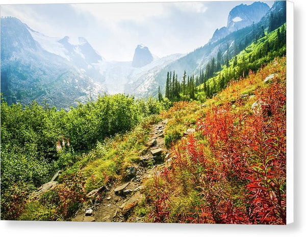 The Spires In Bugaboo Provincial Park, British Columbia, Canada - Canvas Print