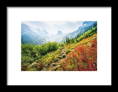 The Spires In Bugaboo Provincial Park, British Columbia, Canada - Framed Print