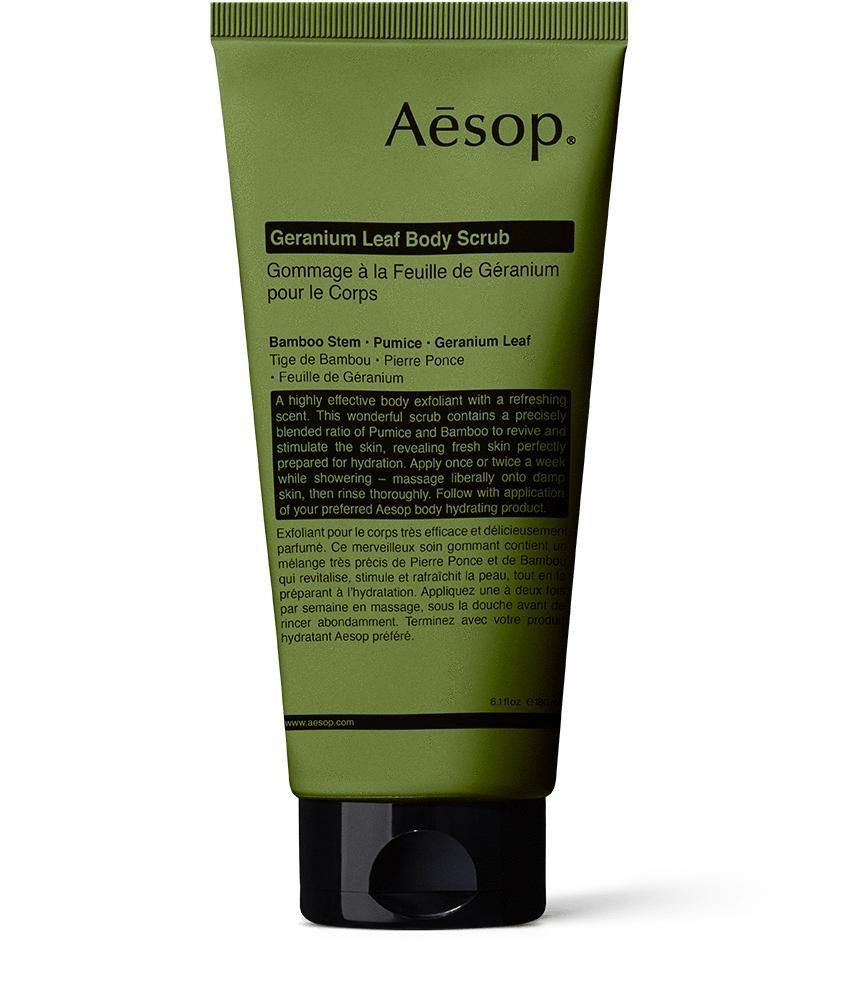 Aesop Geranium Leaf Body Scrub 180mL / Neighborhood Goods