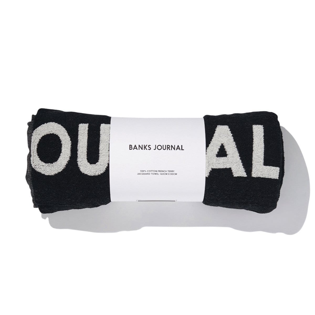 Banks Journal LABEL TOWEL / Neighborhood Goods