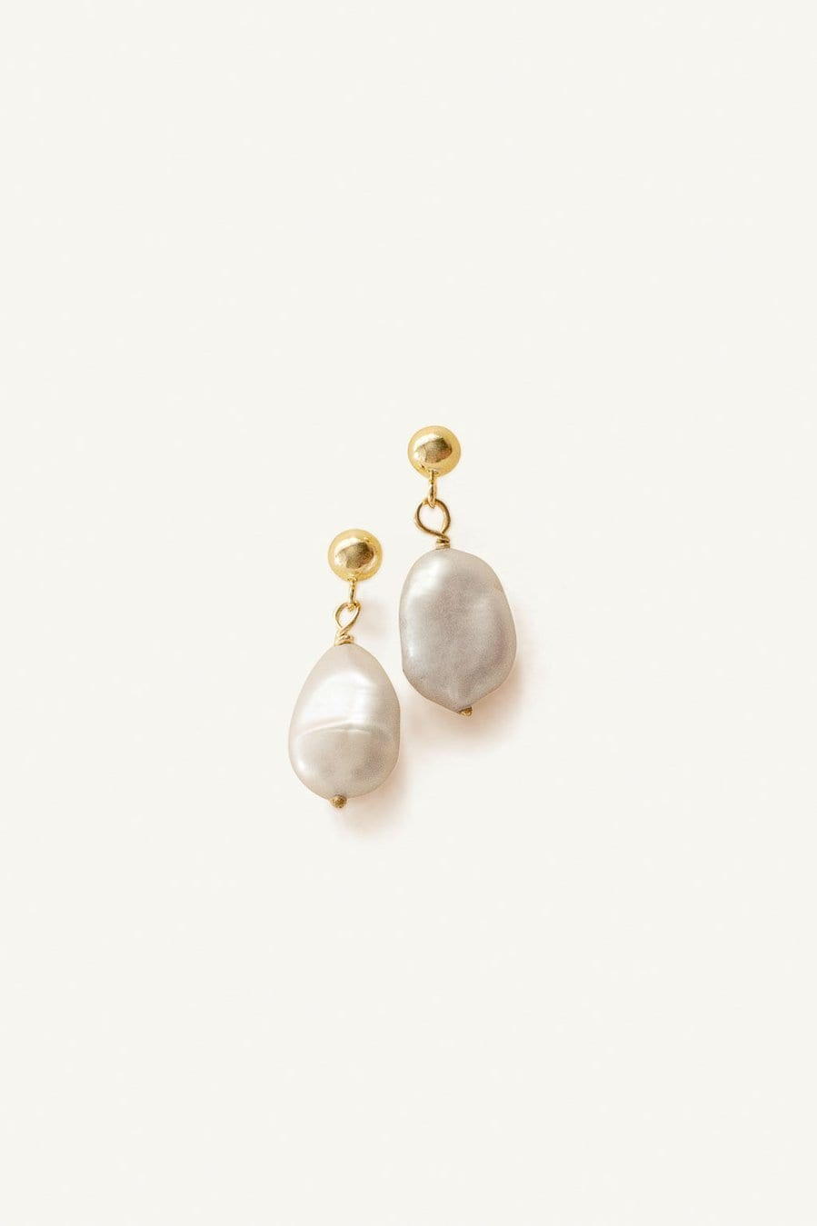 Baroque Pearl Drop Earrings / Neighborhood Goods