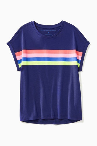 Boxy Rainbow Top / Neighborhood Goods