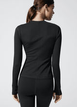 Load image into Gallery viewer, CARBON38 Long Sleeve Top in Diamond Compression / Neighborhood Goods