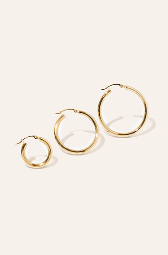 Classic Hoop Earrings / Neighborhood Goods