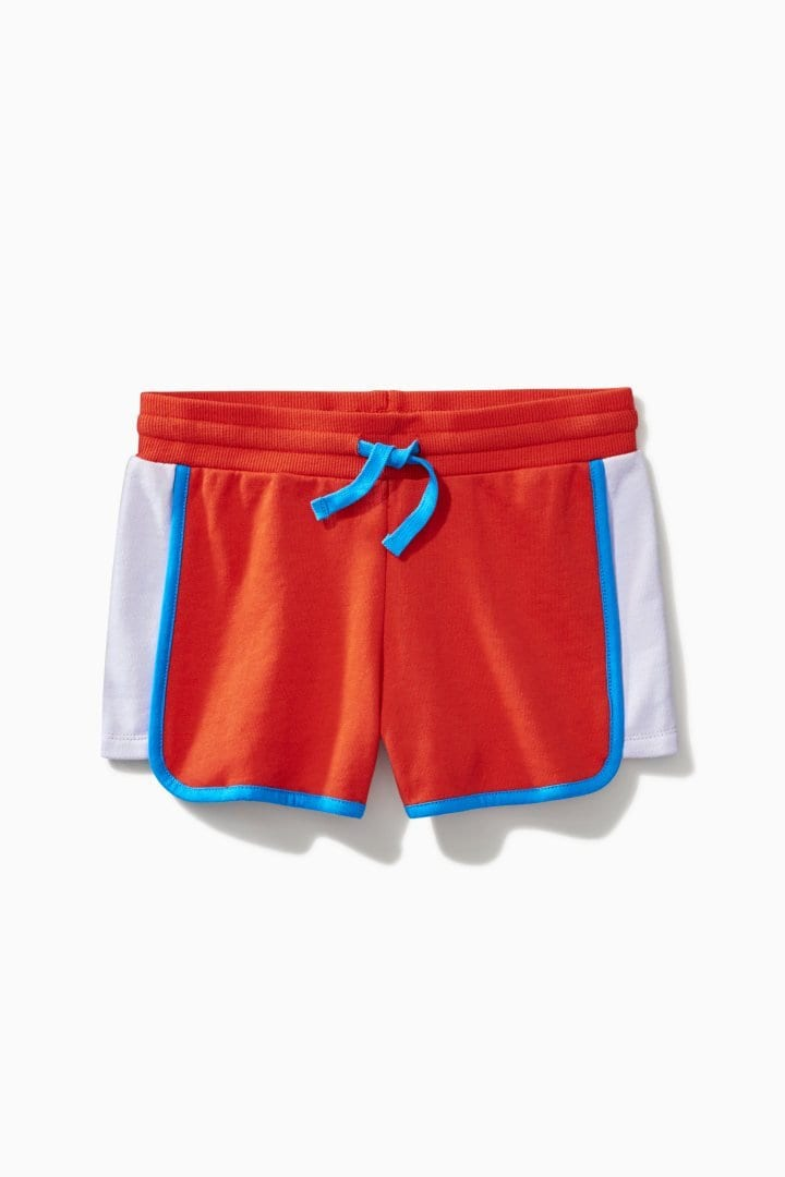 Color Block Dolphin Hem Short / Neighborhood Goods