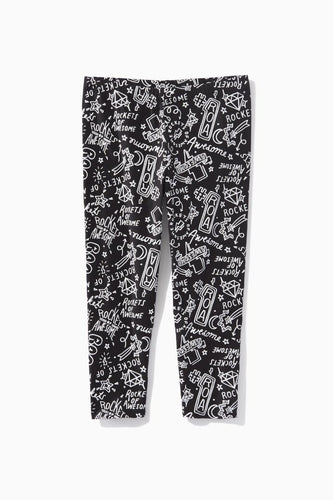 Comic Strip Capri Legging / Neighborhood Goods
