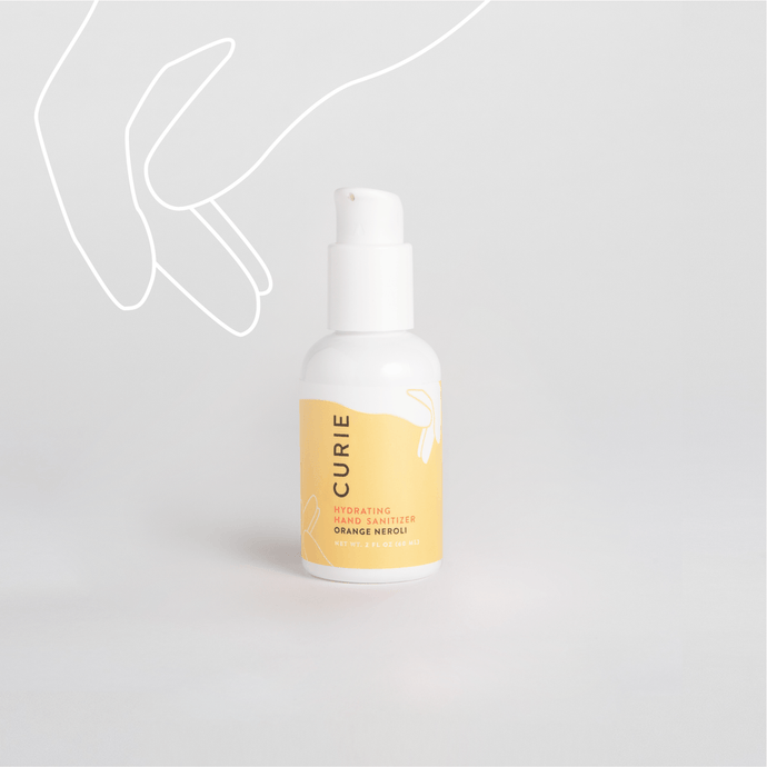 Curie Orange Neroli Hydrating Hand Sanitizer / Neighborhood Goods
