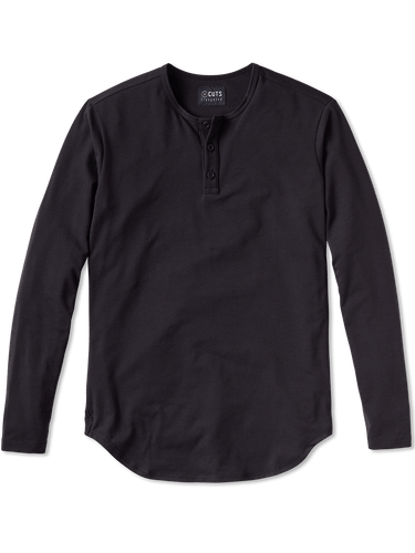 CUTS L/S Henley Elongated-Hem / Neighborhood Goods