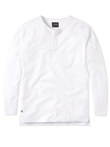 CUTS L/S Henley Split-Hem / Neighborhood Goods