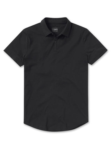 CUTS Polo Curve-Hem / Neighborhood Goods