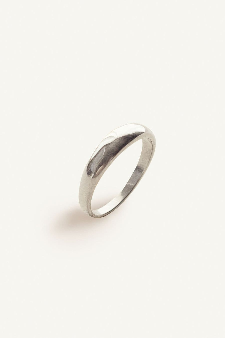Dare to Love Classic Dome Ring Silver / Neighborhood Goods