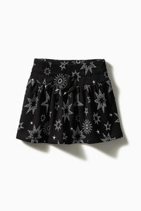 Dynamite Star Knit Skater Skirt / Neighborhood Goods