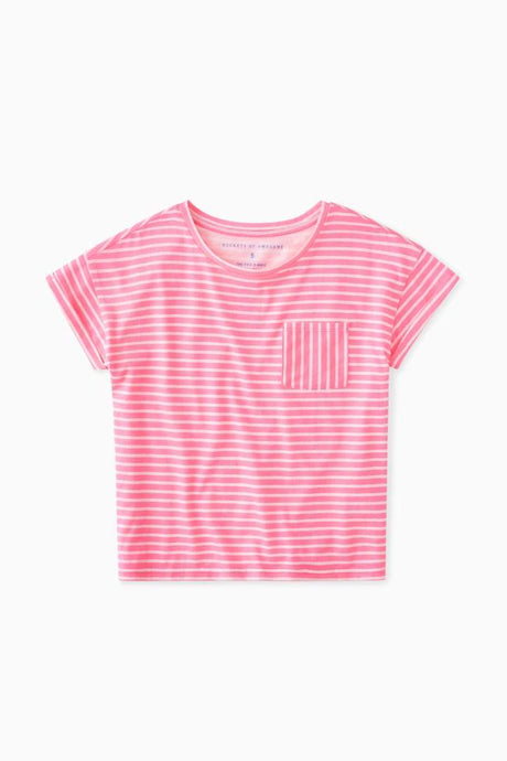 Essential Stripe Pocket Tee / Neighborhood Goods