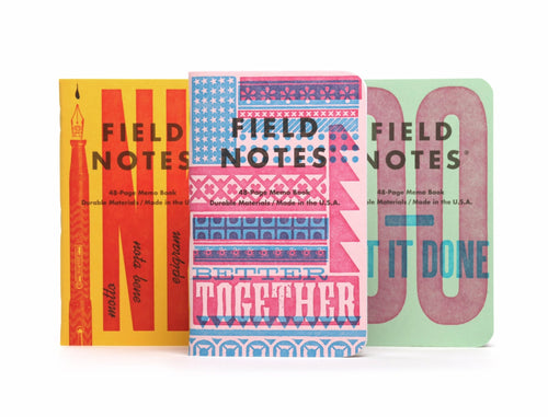 Field Notes United States of Letterpress: Pack B / Neighborhood Goods