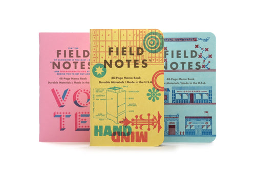 Field Notes United States of Letterpress: Pack C / Neighborhood Goods