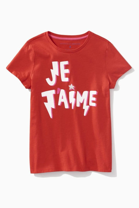 Glitter Star Je T'aime Tee / Neighborhood Goods