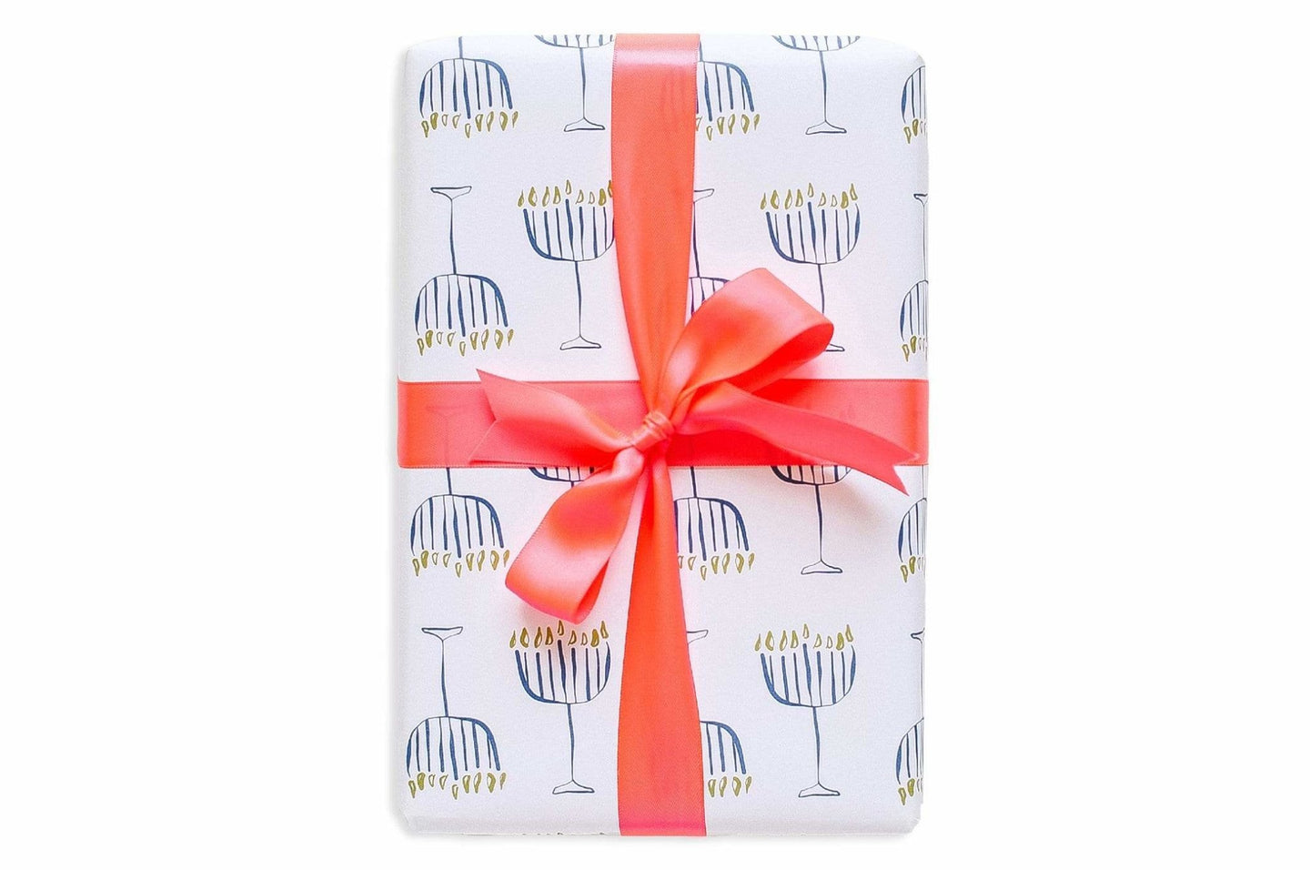Good Juju Ink Hanukkah Menorah Wrapping Paper / Neighborhood Goods
