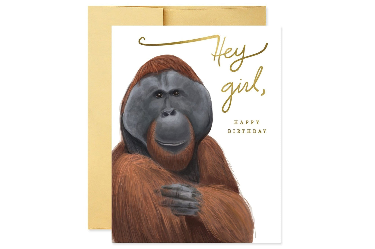 Hey Girl (Orangutan) Birthday / Neighborhood Goods