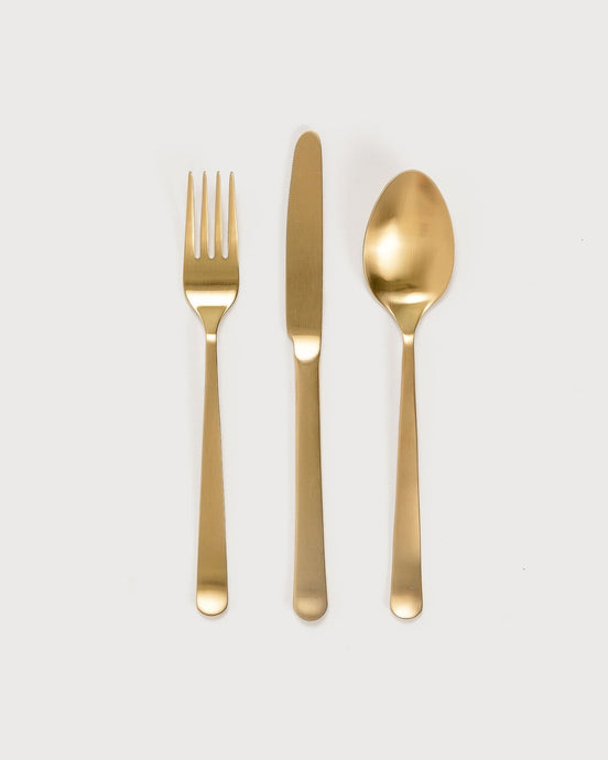 Kinn Home 3 Piece Flatware Set / Neighborhood Goods