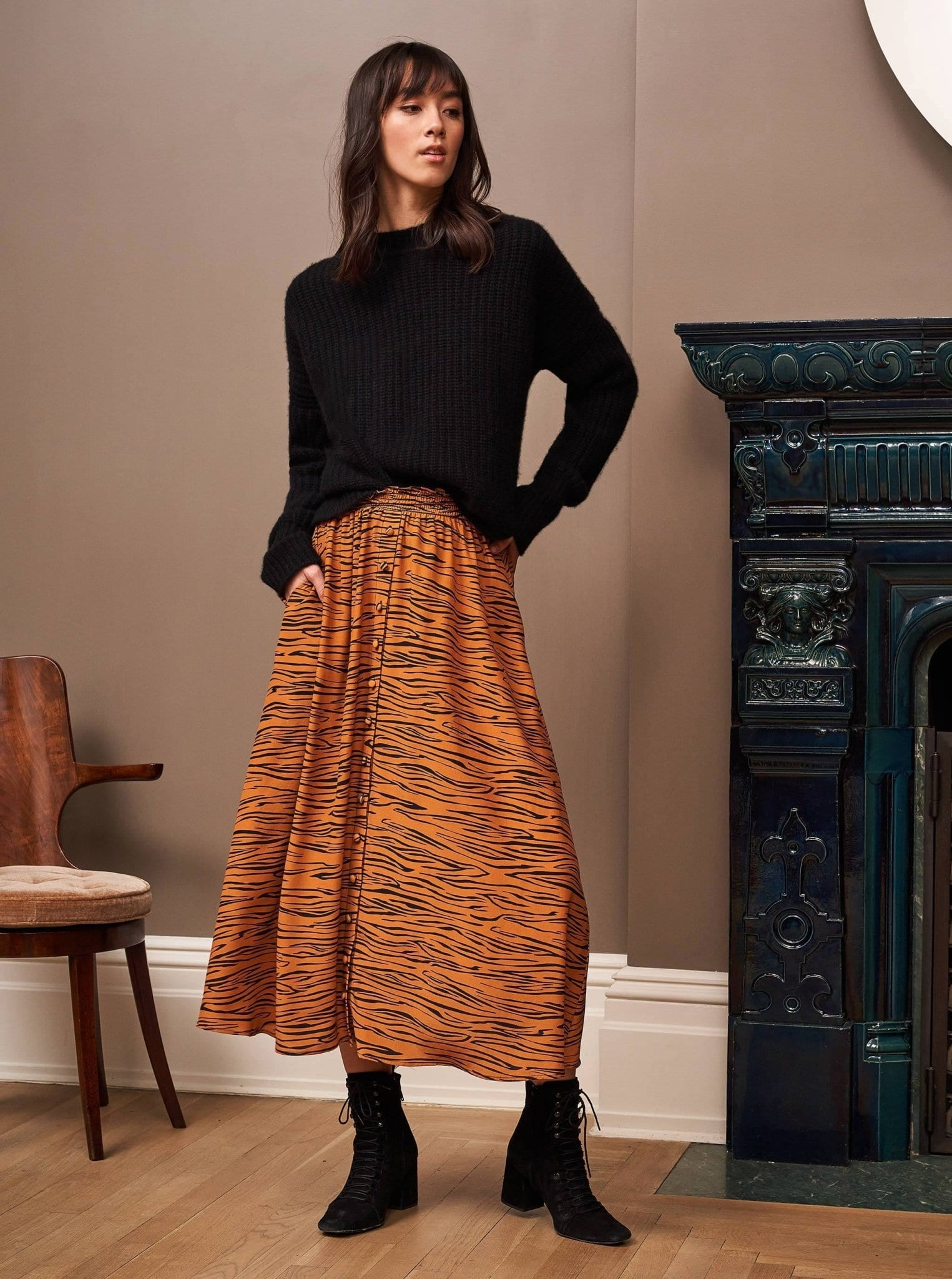 La Ligne The Meredith Skirt / Neighborhood Goods