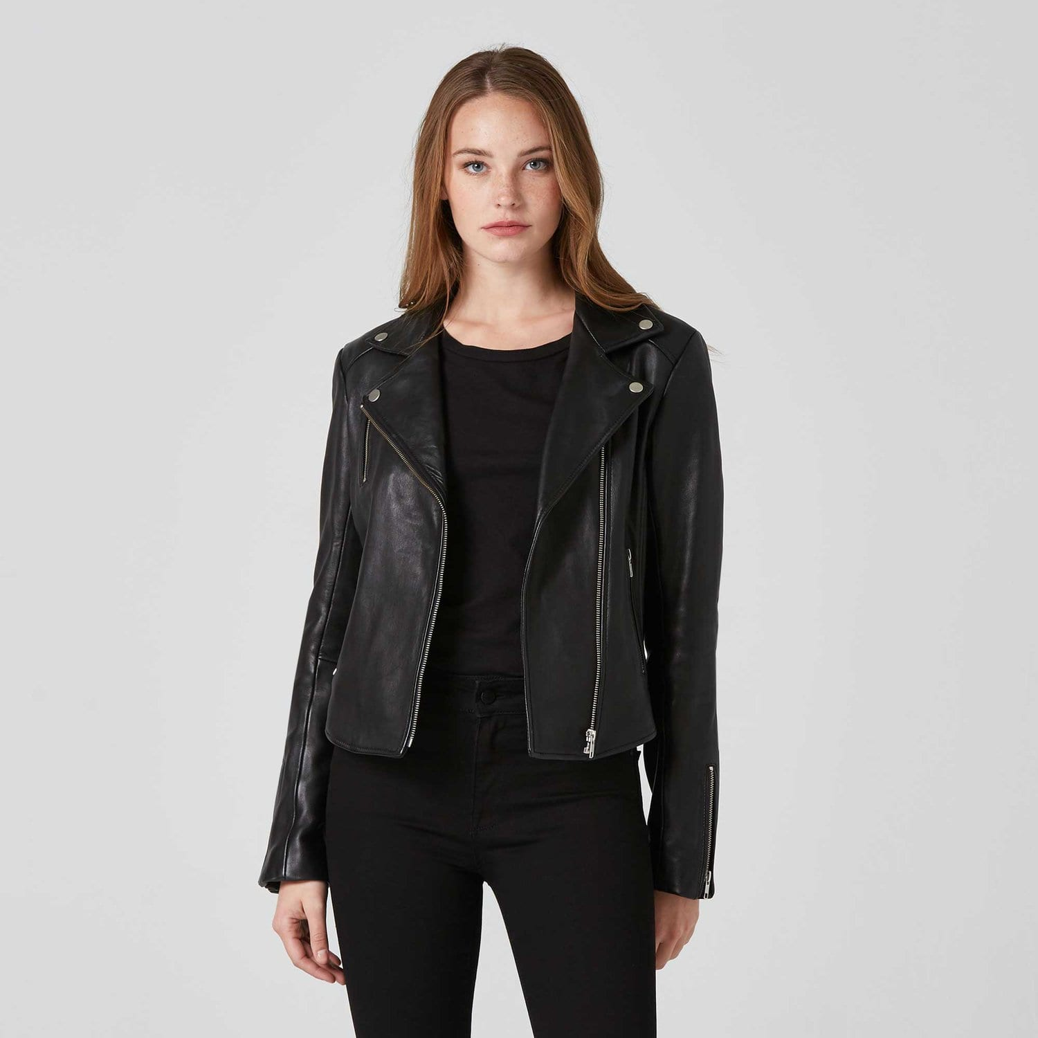Leather Moto Jacket / Neighborhood Goods