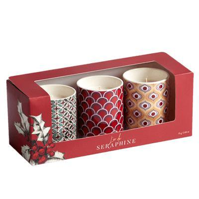 L'or de Seraphine Holiday 3 Candle Set / Neighborhood Goods