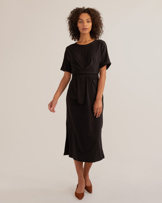 McKenna Tie-Back Wrap Dress / Neighborhood Goods