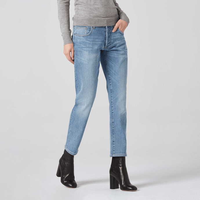 Mid Rise Boyfriend Jeans / Neighborhood Goods