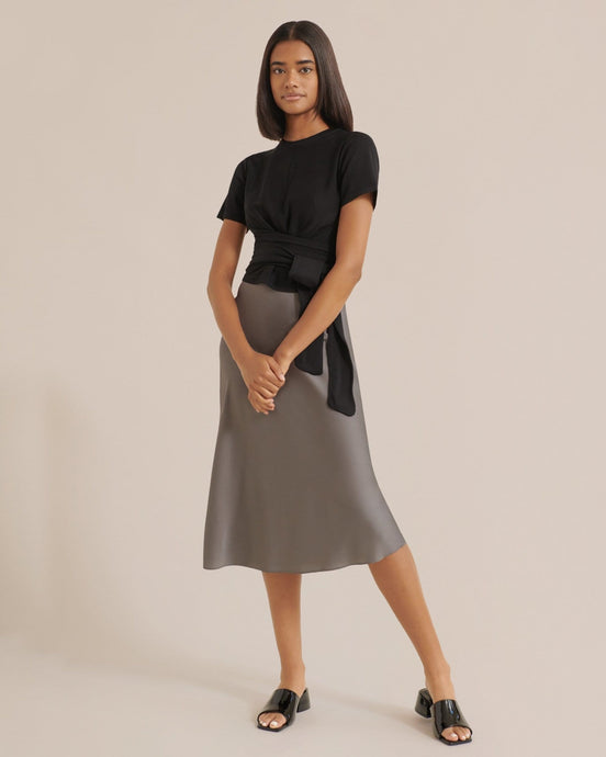 Modern Citizen Dakota Satin Slip Skirt / Neighborhood Goods
