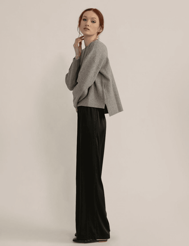 Modern Citizen Daphne Relaxed Satin Pants / Neighborhood Goods