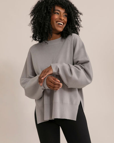 Modern Citizen Indra Crew Neck Boyfriend Sweater / Neighborhood Goods