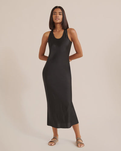 Modern Citizen Jordana Racerback Satin Dress / Neighborhood Goods
