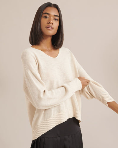 Modern Citizen Lauren Relaxed V-Neck Sweater / Neighborhood Goods