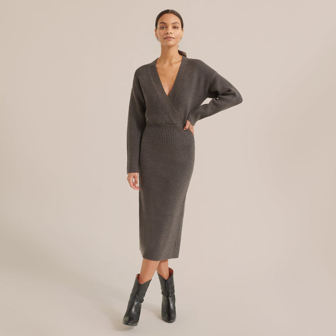 Modern Citizen Letty V-Neck Sweater Dress / Neighborhood Goods