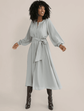 Load image into Gallery viewer, Modern Citizen Remy Tie-Front Billow Sleeve Dress / Neighborhood Goods
