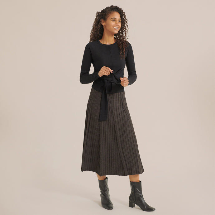 Modern Citizen Tilda Pleated Maxi Skirt / Neighborhood Goods