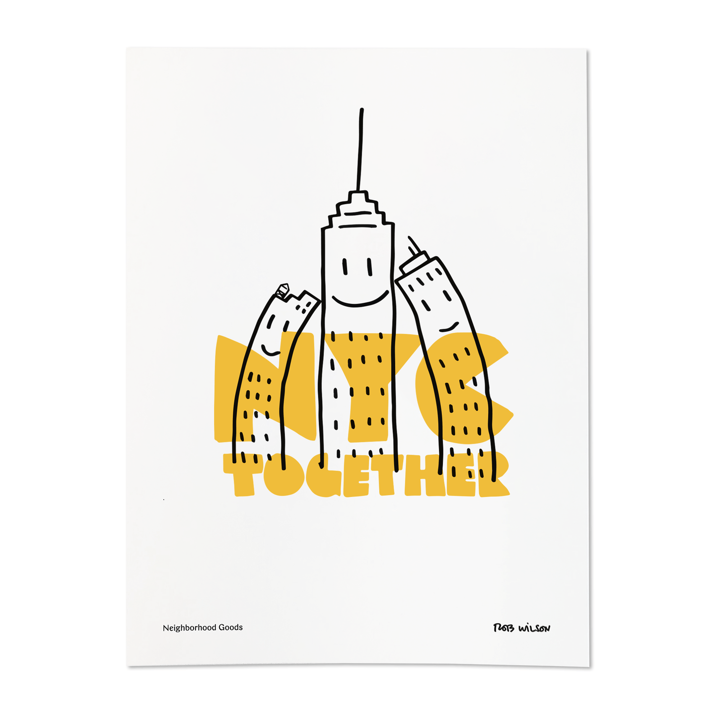 Neighborhood Goods Rob Wilson NY Together Print / Neighborhood Goods